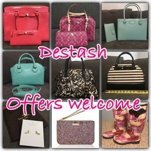 Closet clear out - make offers!